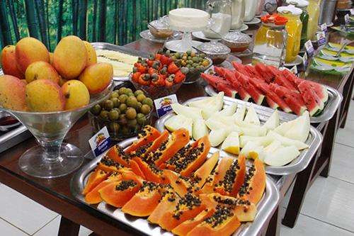 café da manhã - frutas
